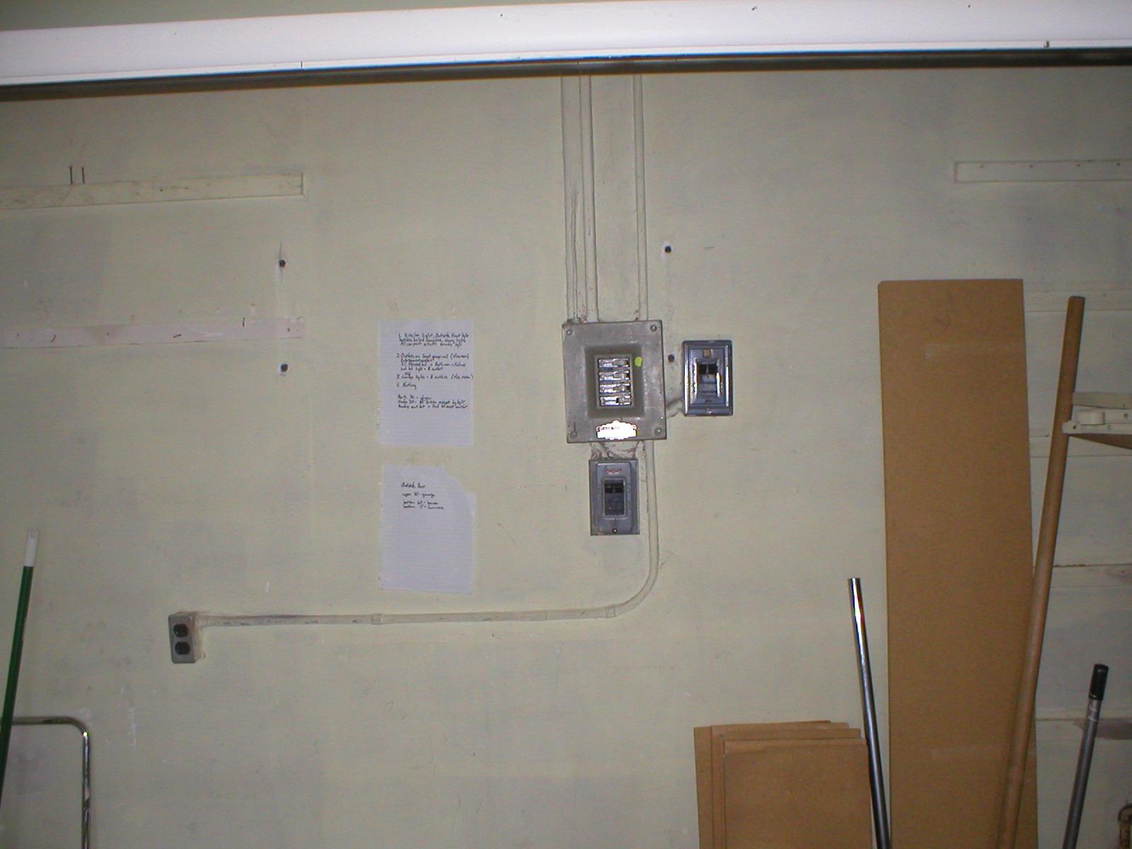 Original Interior Breaker Boxes