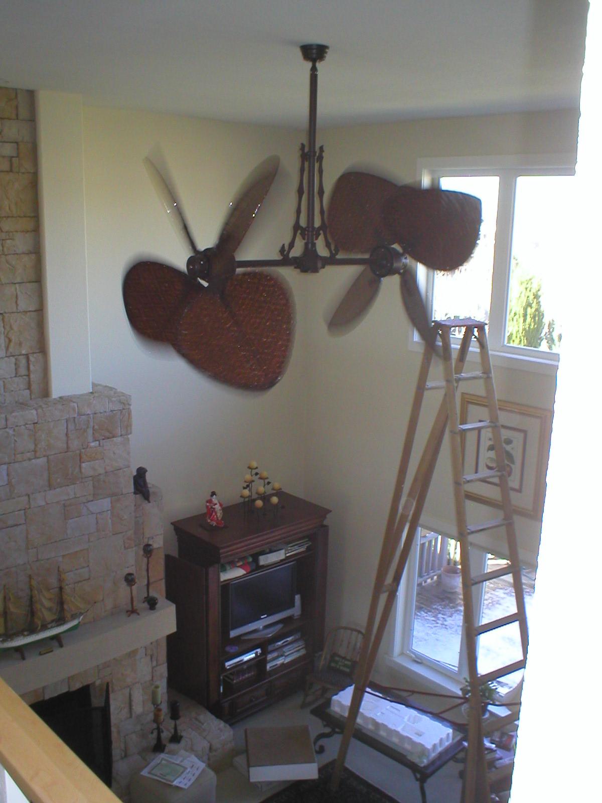 2 Story Great Room Ceiling Fan