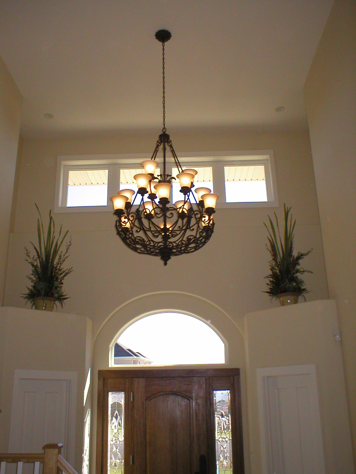 Foyer chandeliers. new design led crystal lights modern foyer ...